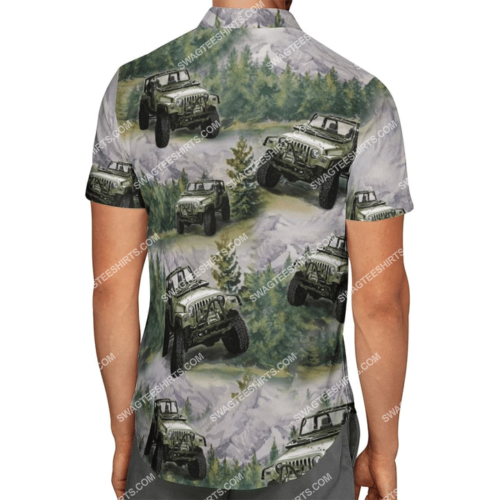 the jeep forest all over printed hawaiian shirt 4(1)