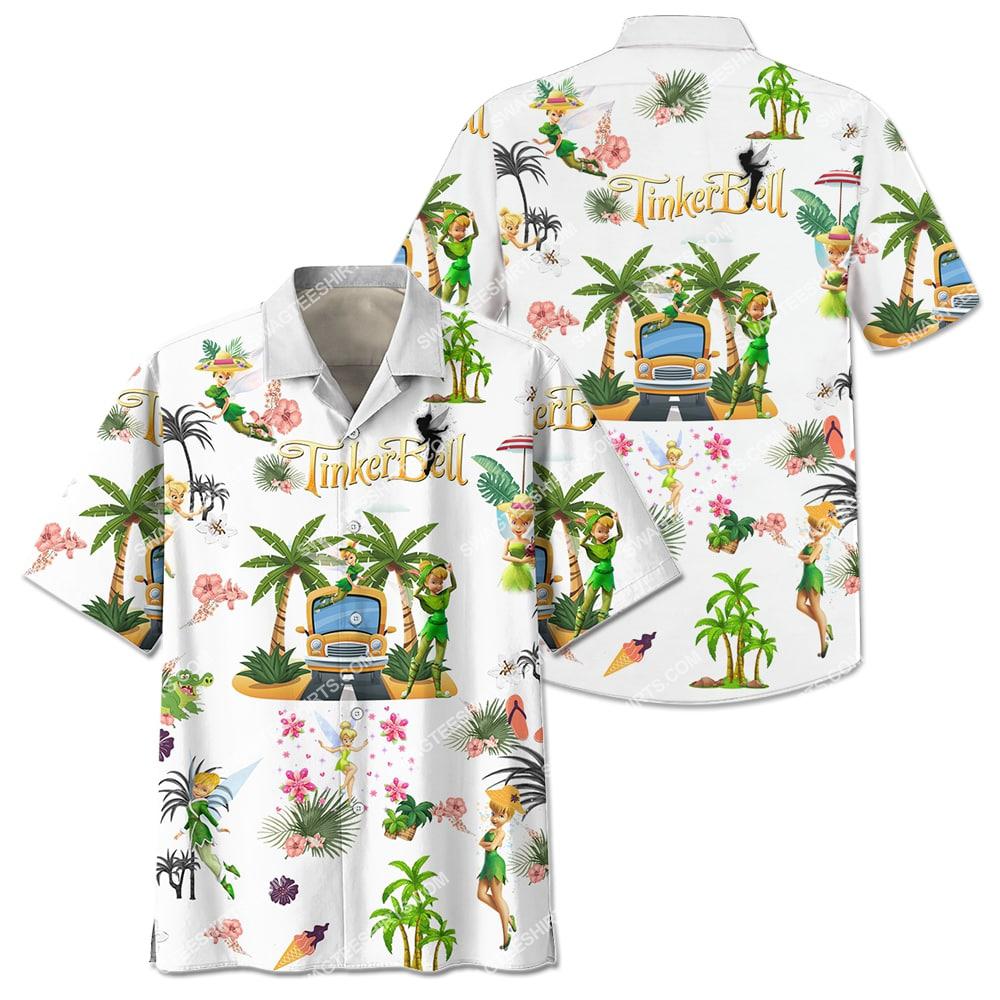 tinker bell on the beach summer full printing hawaiian shirt 2(1)