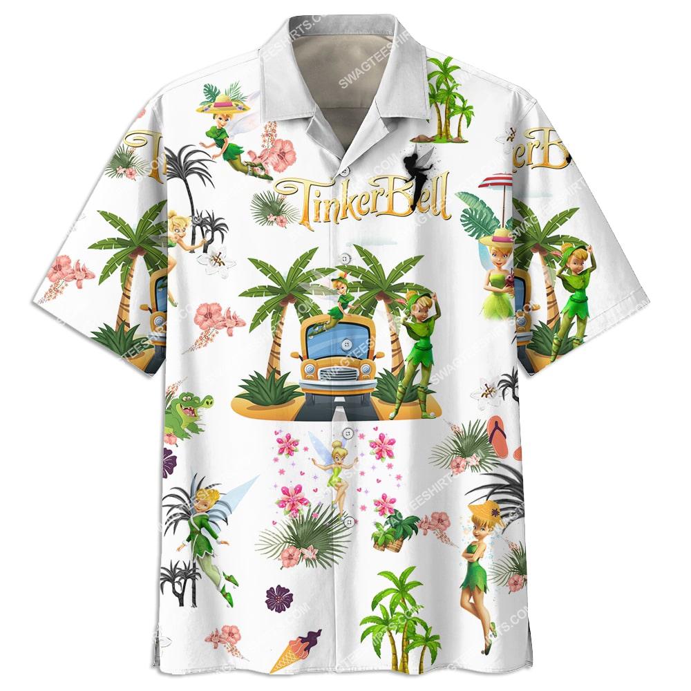 tinker bell on the beach summer full printing hawaiian shirt 3(1)