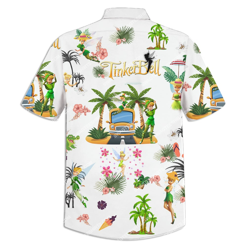 tinker bell on the beach summer full printing hawaiian shirt 4(1)