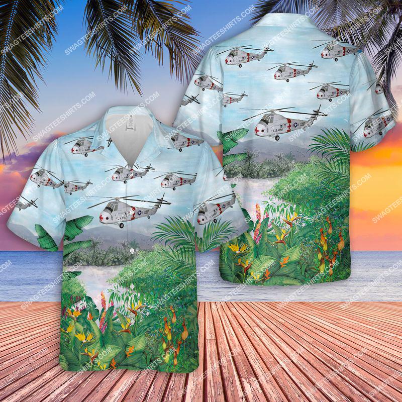 us army sikorsky medevac ch-34c choctaw all over printed hawaiian shirt 3(1)