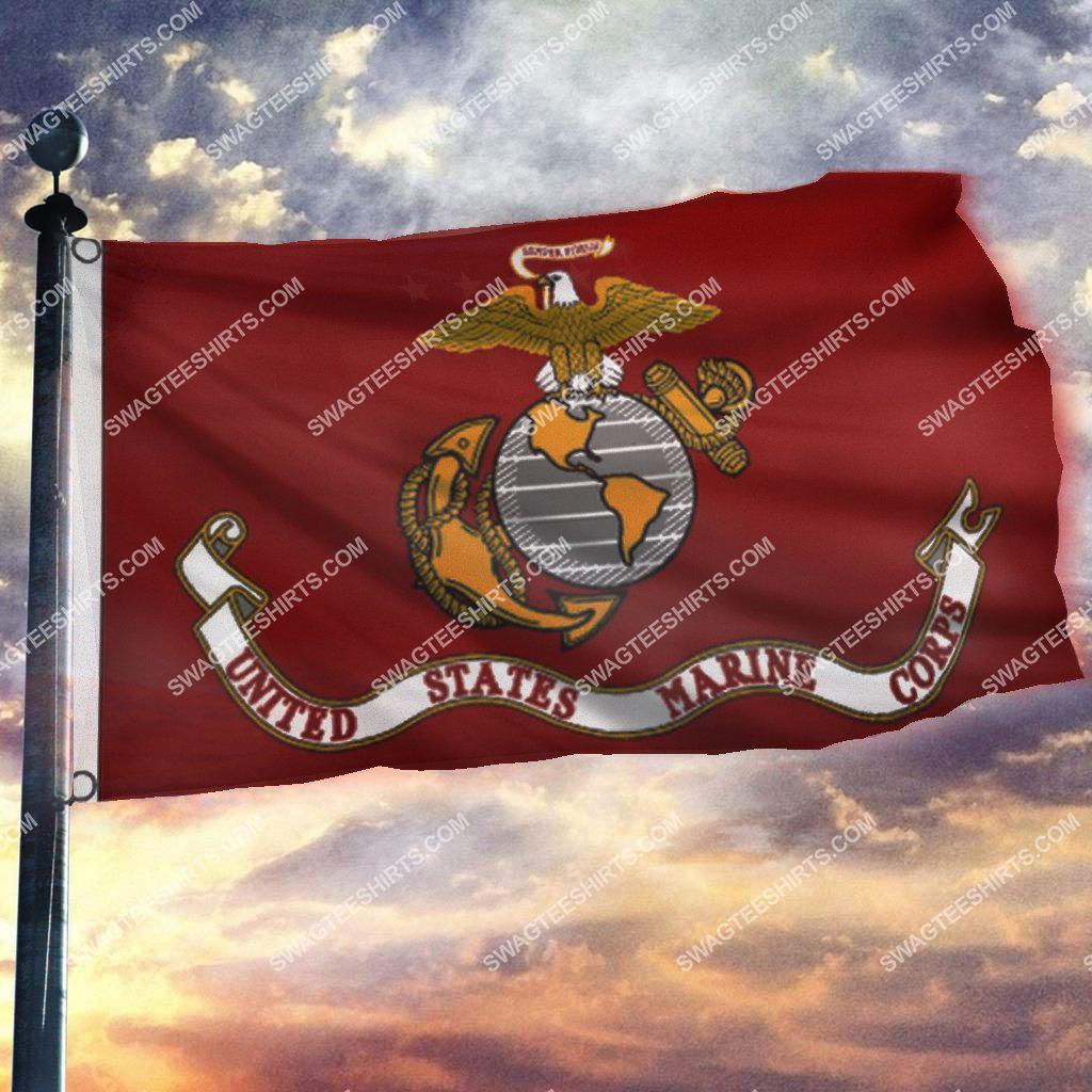 usmc semper fi united states marine corps memorial day flag 3(1)