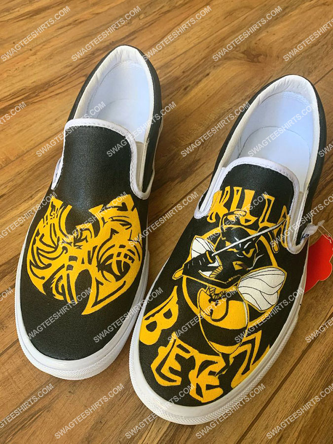 wu tang clan band all over print slip on shoes 2(1)