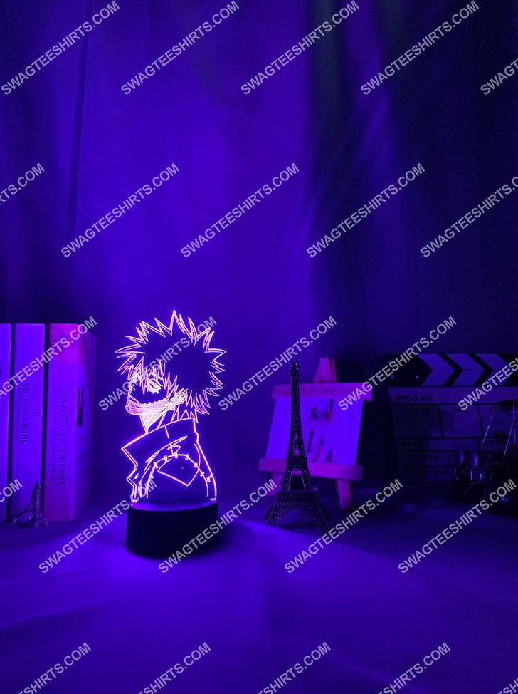Dabi my hero academia anime 3d night light led 6(1)