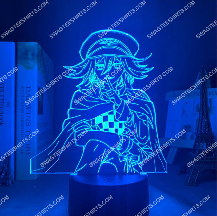 Danganronpa kokichi oma anime 3d night light led 2(1)