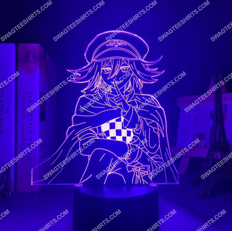 Danganronpa kokichi oma anime 3d night light led 3(1)