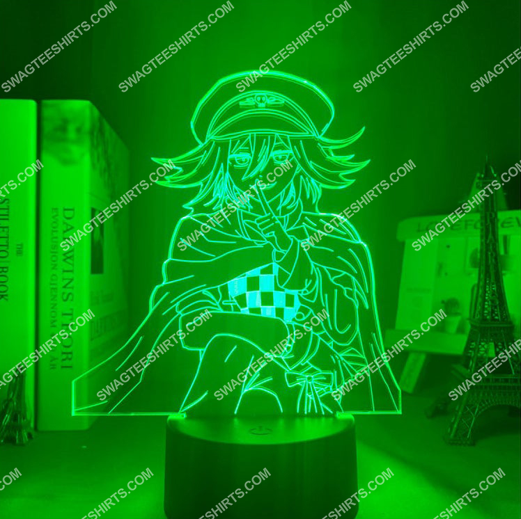 Danganronpa kokichi oma anime 3d night light led 4(1)