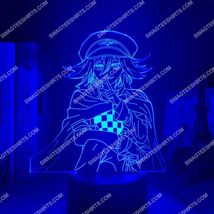 Danganronpa kokichi oma anime 3d night light led 5(1)