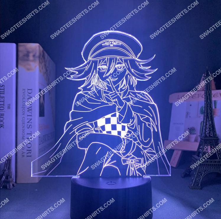 Danganronpa kokichi oma anime 3d night light led 6(1)