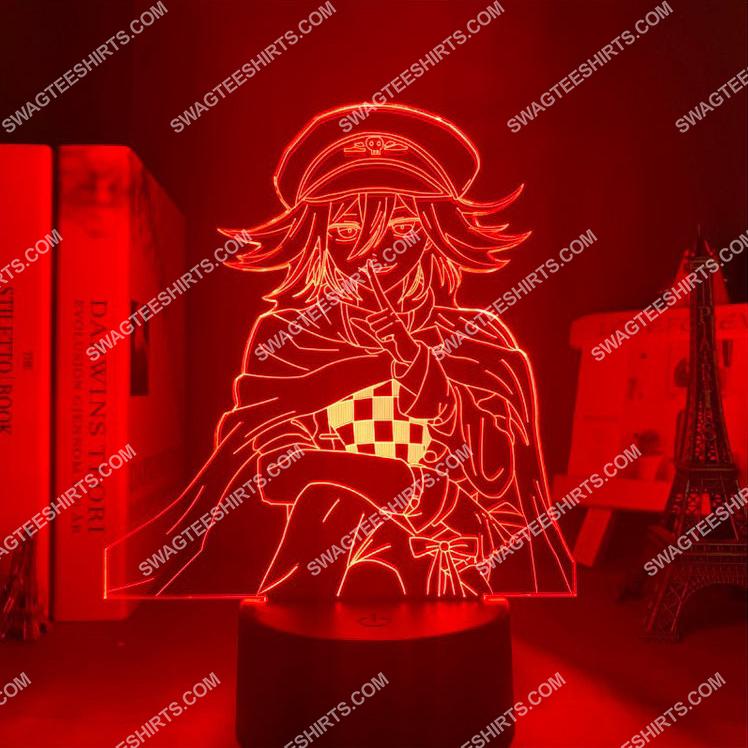 Danganronpa kokichi oma anime 3d night light led 7(1)