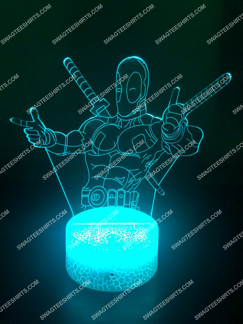 Deadpool marvel comics character 3d night light led 3(1)