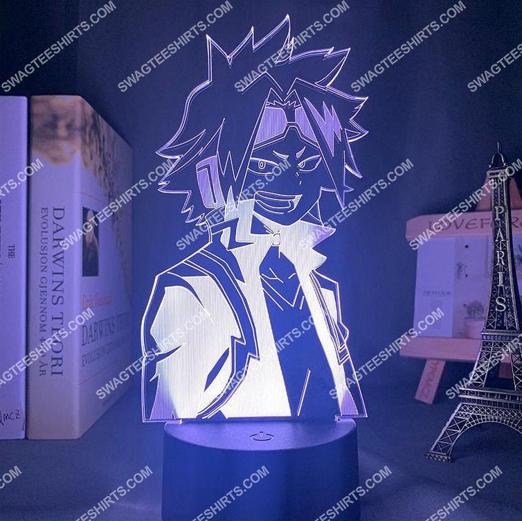 Denki kaminari my hero academia anime 3d night light led 2(1)