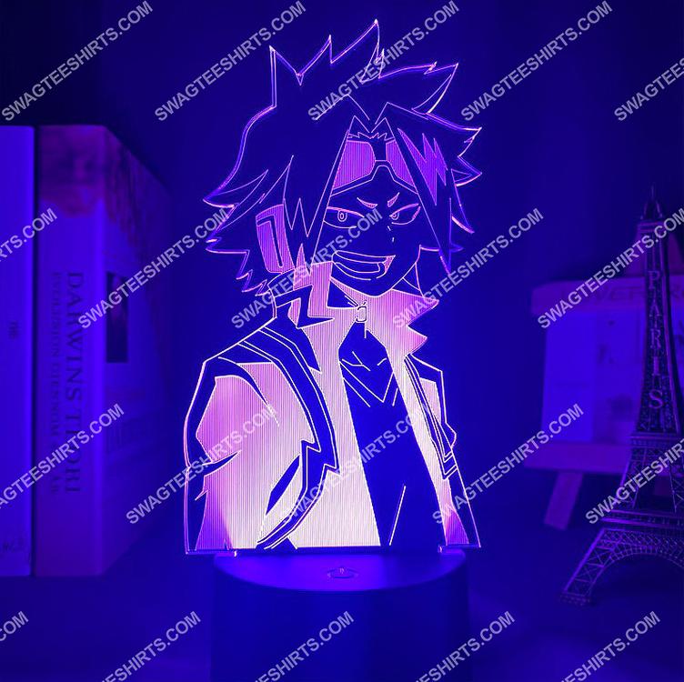 Denki kaminari my hero academia anime 3d night light led 3(1)