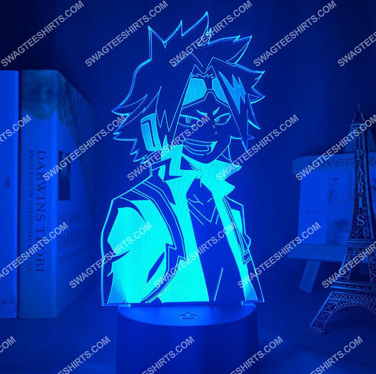 Denki kaminari my hero academia anime 3d night light led 5(1)