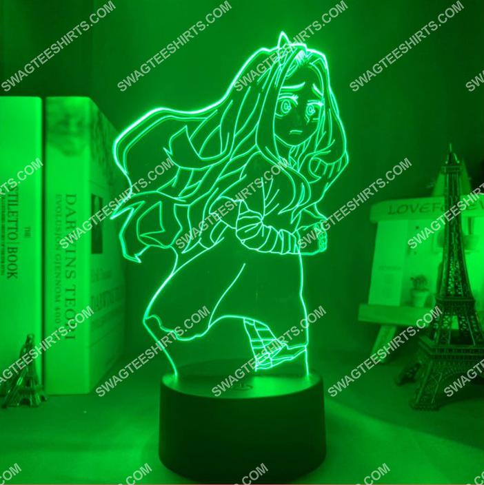 Eri my hero academia anime 3d night light led 3(1)