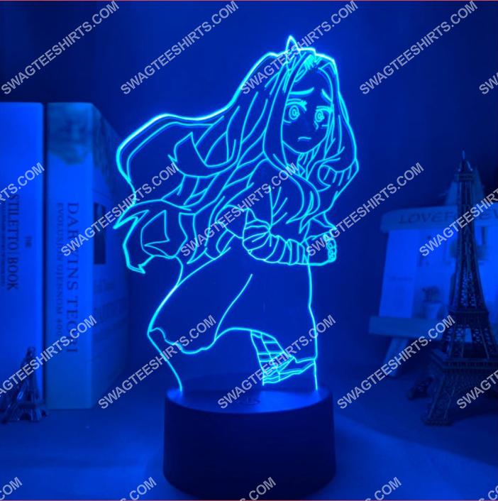 Eri my hero academia anime 3d night light led 6(1)