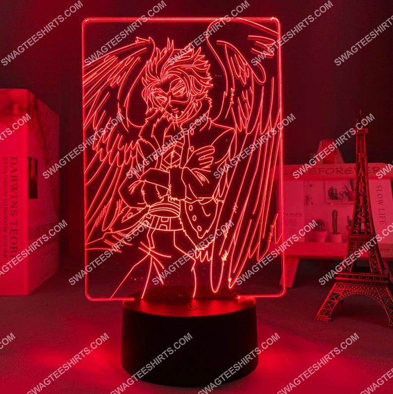 Hawks my hero academia anime 3d night light led 2(1)