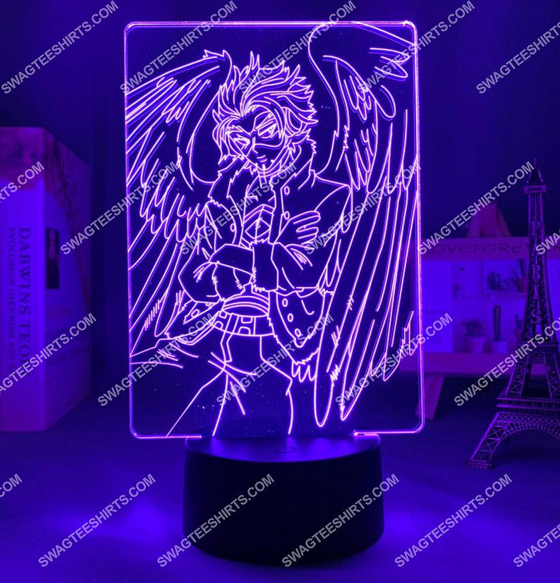 Hawks my hero academia anime 3d night light led 3(1)