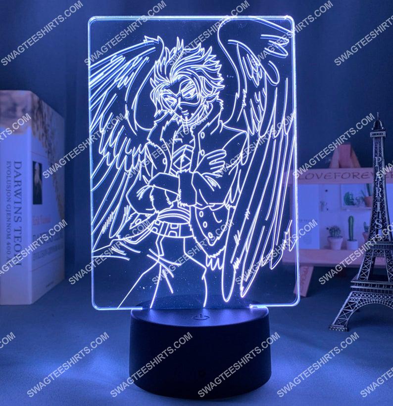 Hawks my hero academia anime 3d night light led 5(1)