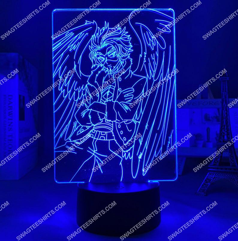 Hawks my hero academia anime 3d night light led 6(1)