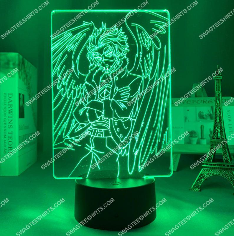 Hawks my hero academia anime 3d night light led 7(1)