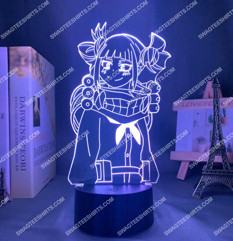Himiko toga my hero academia anime 3d night light led 2(1)