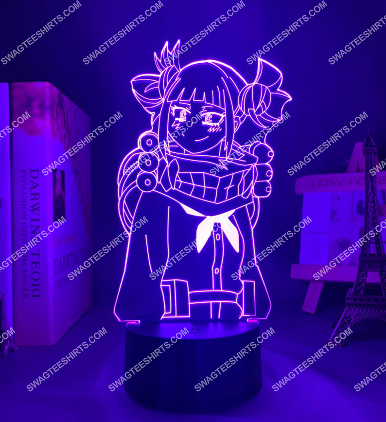 Himiko toga my hero academia anime 3d night light led 3(1)