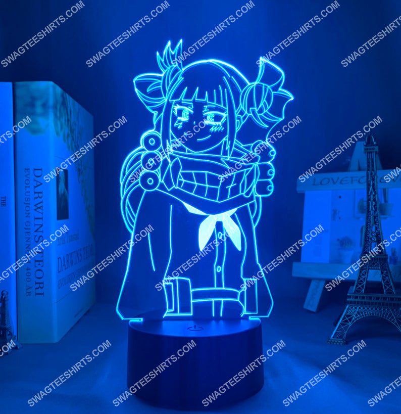Himiko toga my hero academia anime 3d night light led 4(1)