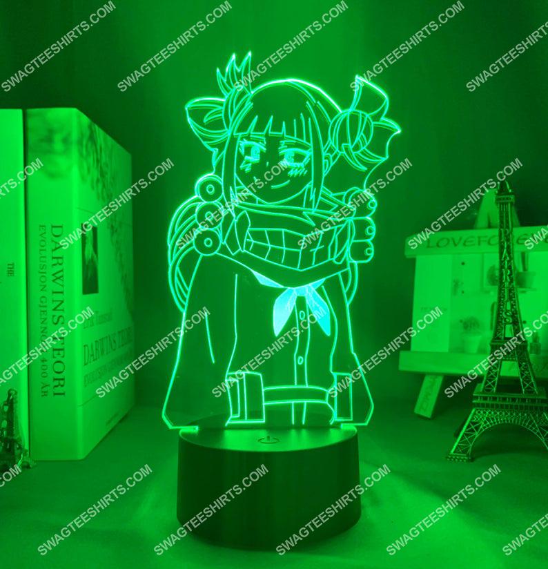 Himiko toga my hero academia anime 3d night light led 6(1)