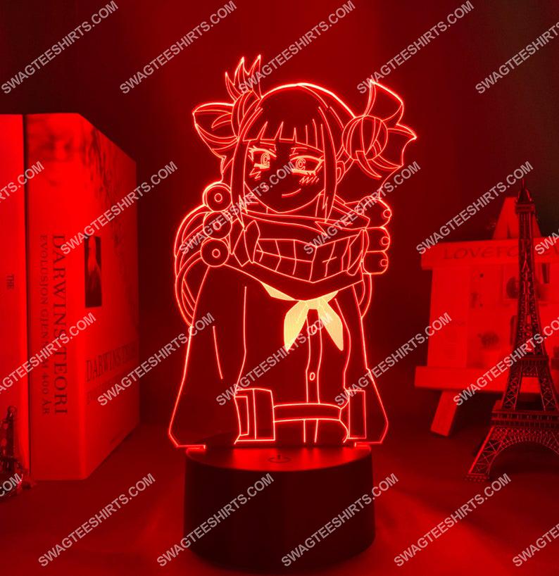 Himiko toga my hero academia anime 3d night light led 7(1)