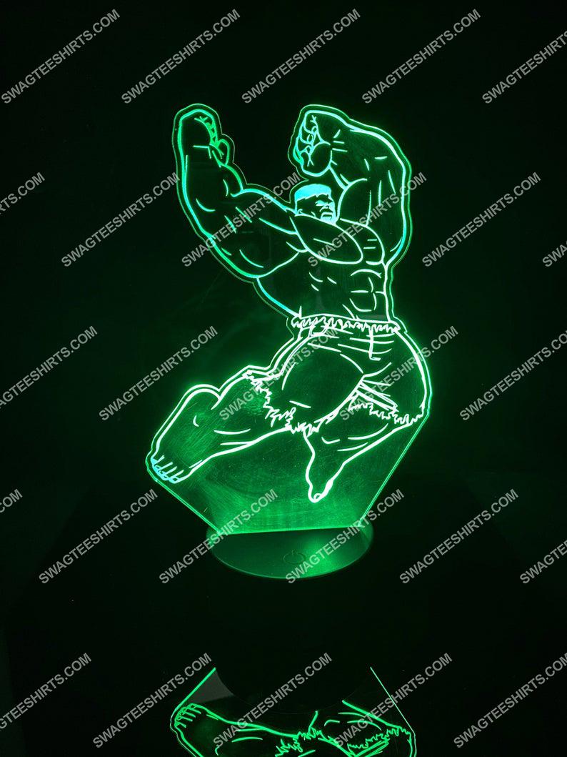 Hulk marvel comic 3d night light led 2(1)