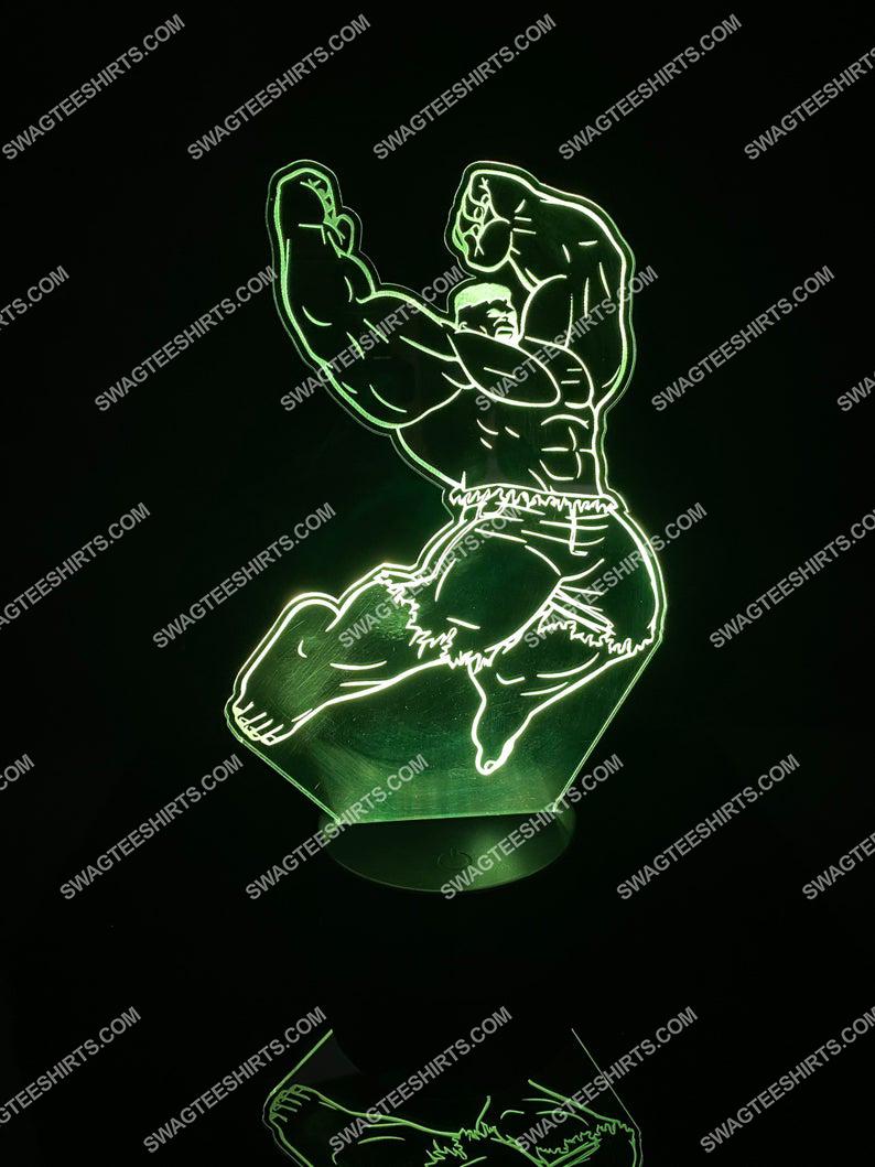 Hulk marvel comic 3d night light led 5(1)