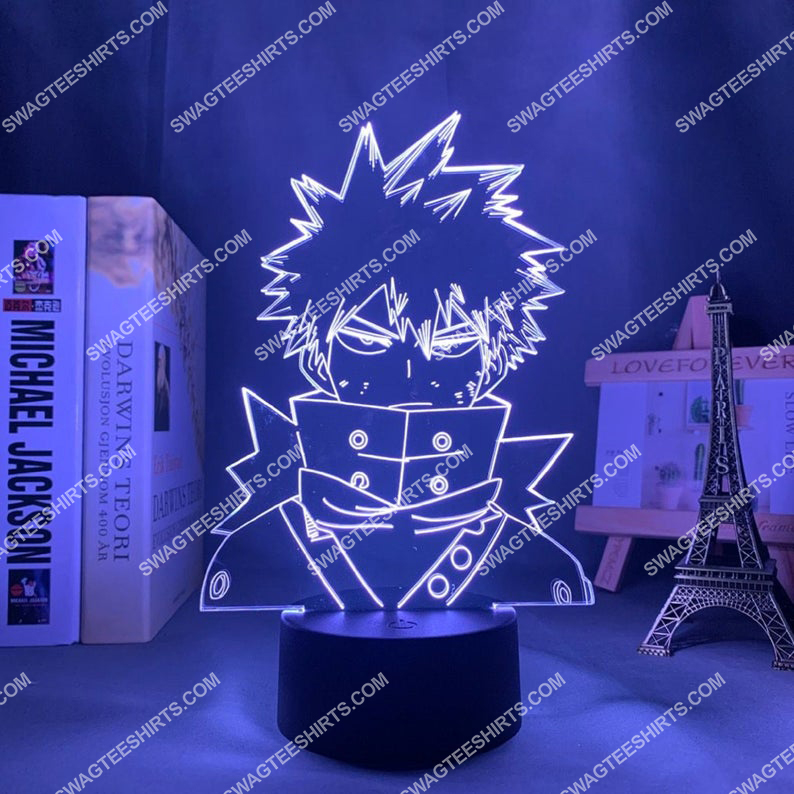 Katsuki bakugo light my hero academia anime 3d night light led 2(1)