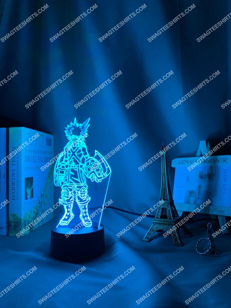 My hero academia bakugo katsuki anime 3d night light led 2(1)