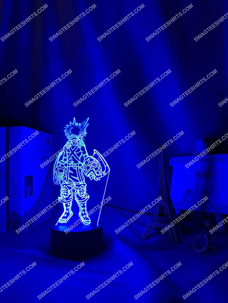 My hero academia bakugo katsuki anime 3d night light led 5(1)
