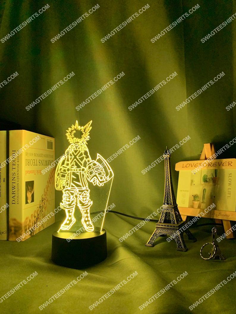 My hero academia bakugo katsuki anime 3d night light led 6(1)