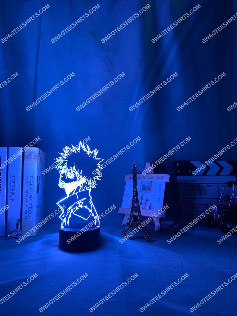 My hero academia dabi anime 3d night light led 5(1)