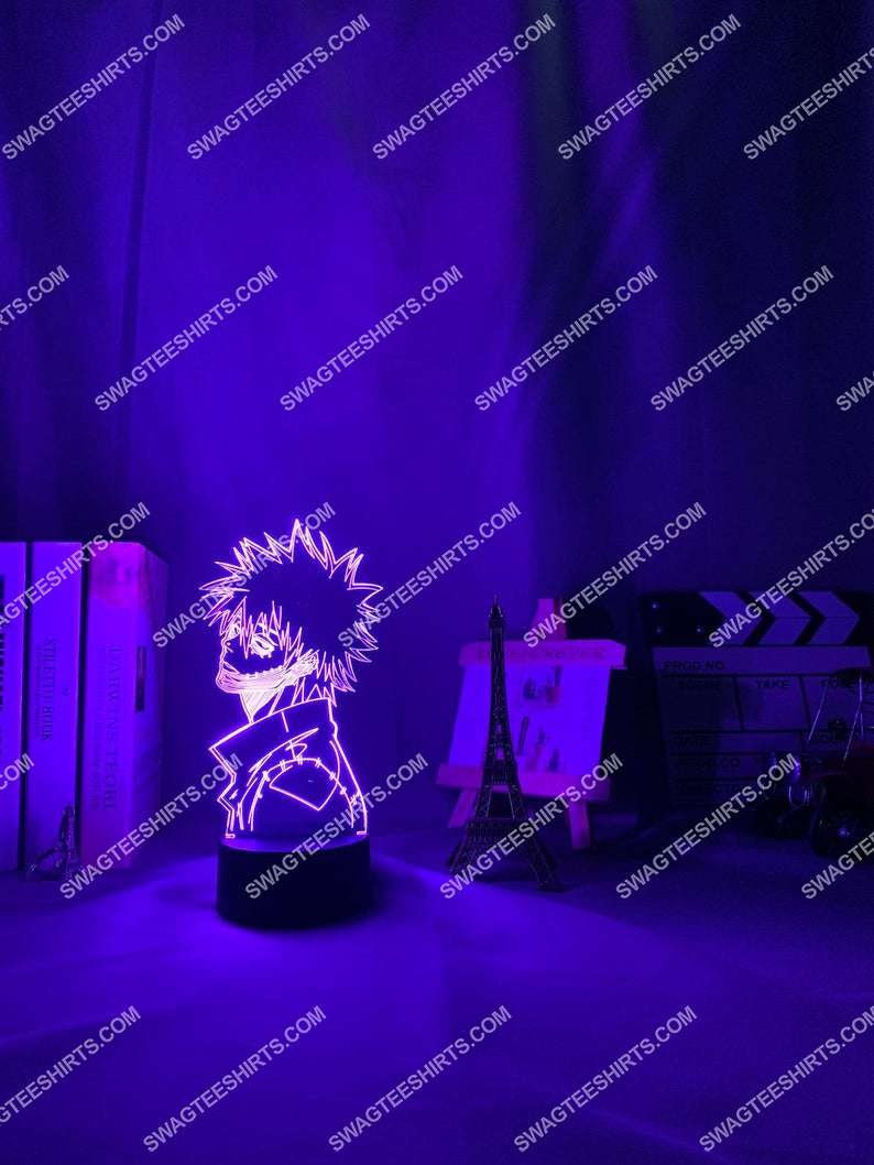 My hero academia dabi anime 3d night light led 6(1)