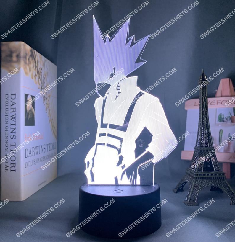 My hero academia fumikage tokoyami anime 3d night light led 3(1)