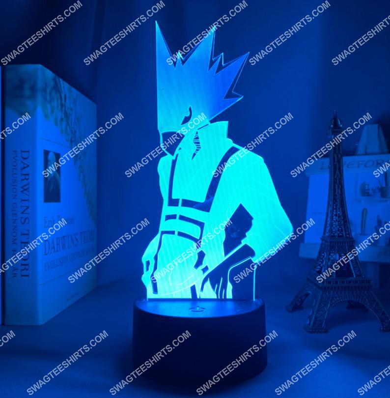 My hero academia fumikage tokoyami anime 3d night light led 5(1)