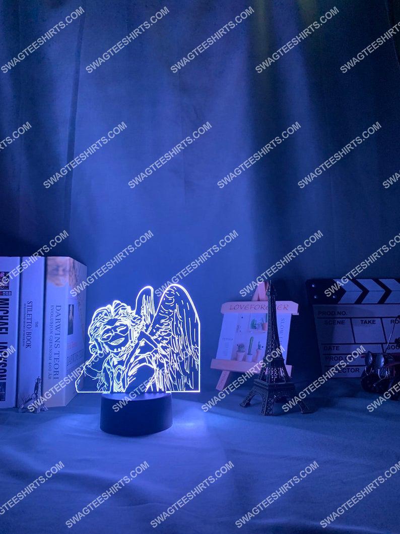 My hero academia hawks anime 3d night light led 2(1)