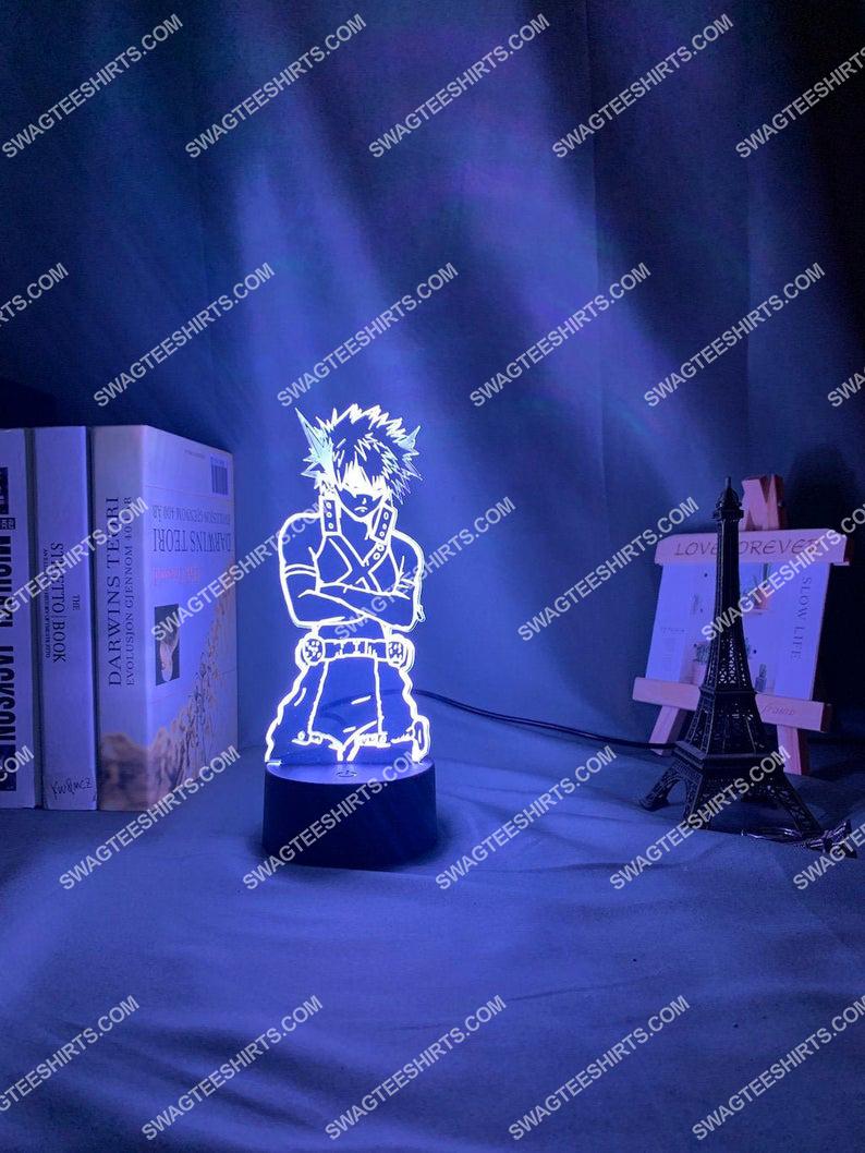 My hero academia katsuki bakugoe 3d night light led 2(1)