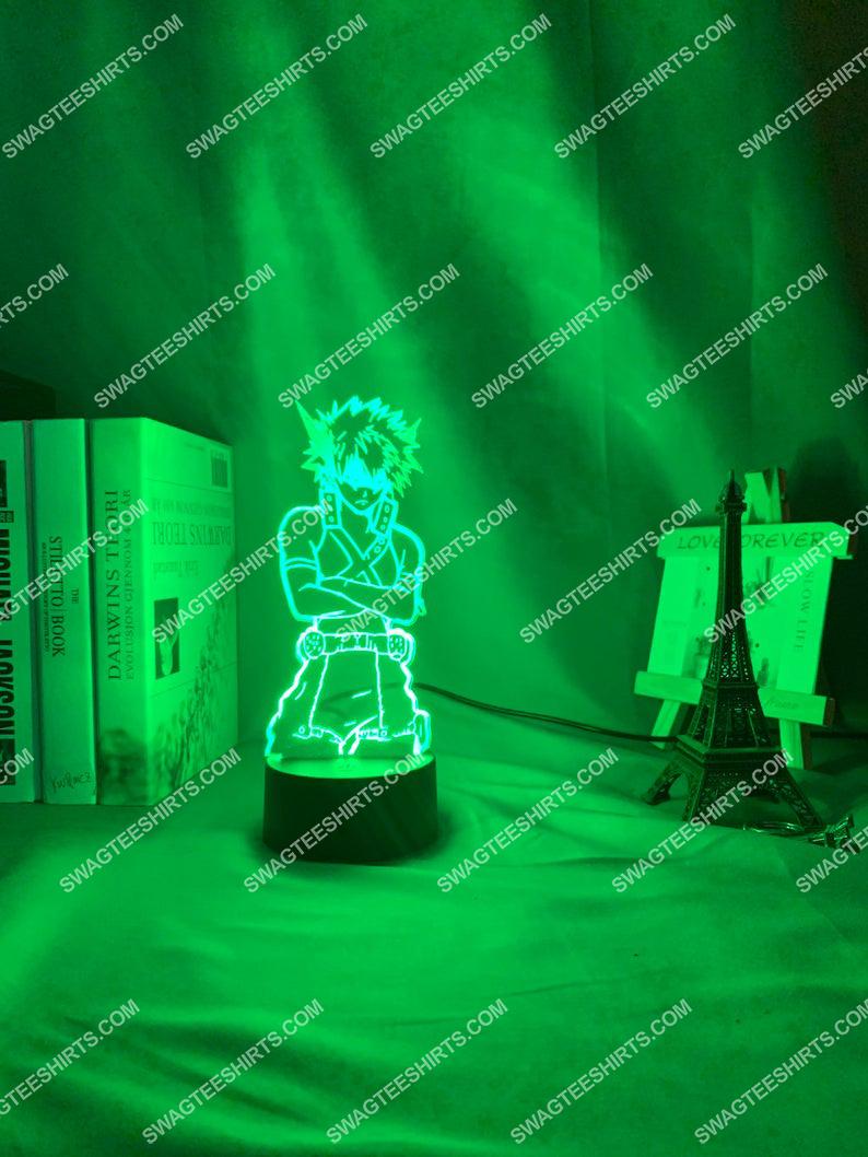 My hero academia katsuki bakugoe 3d night light led 3(1)