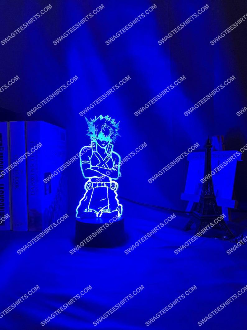 My hero academia katsuki bakugoe 3d night light led 6(1)