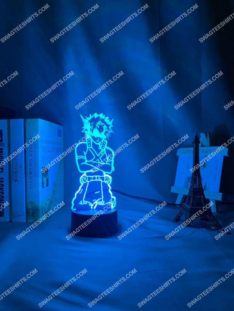 My hero academia katsuki bakugoe 3d night light led 7(1)