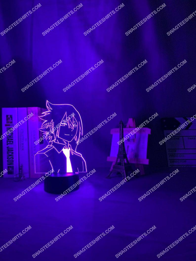 My hero academia tamaki amajiki anime 3d night light led 2(1)