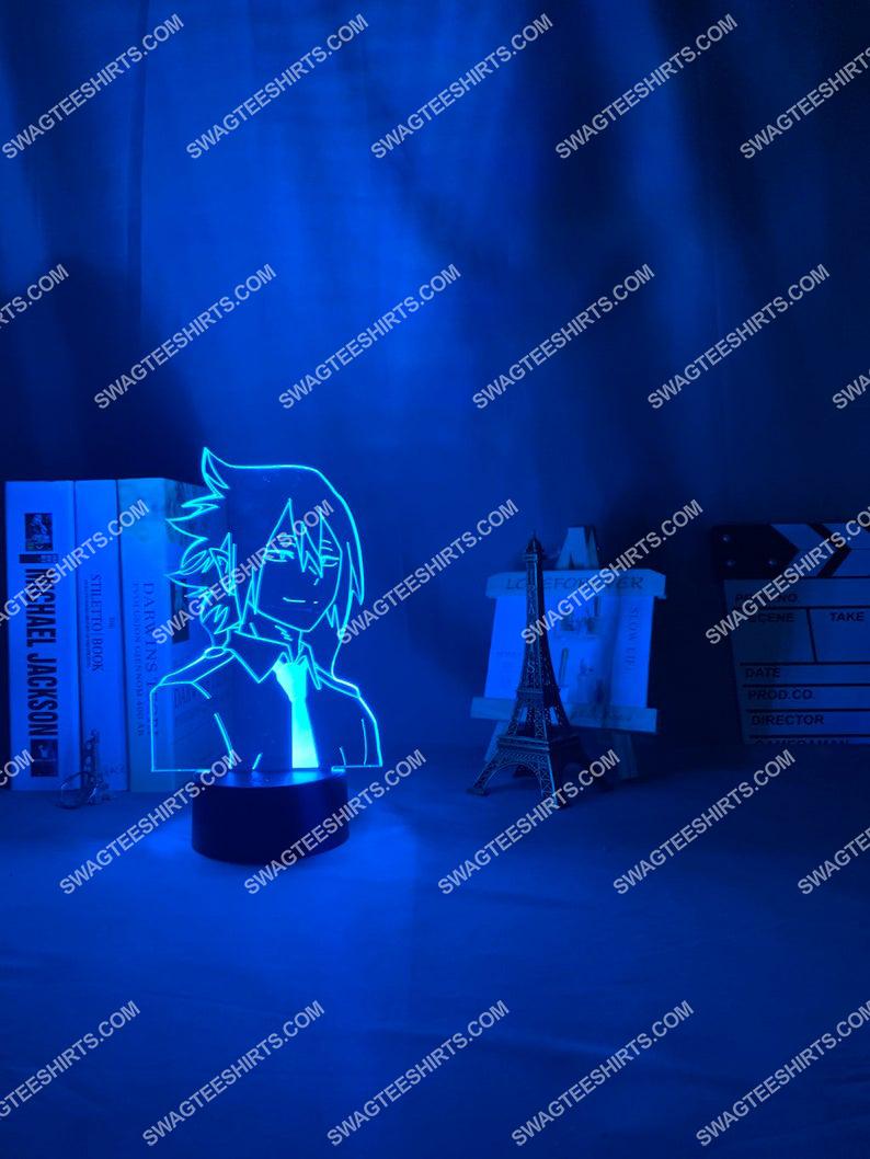 My hero academia tamaki amajiki anime 3d night light led 4(1)