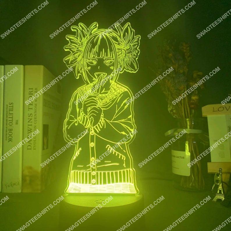My hero academia toga himiko figure 3d night light led 2(1)