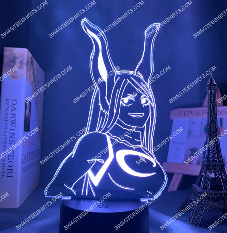 Rumi usagiyama my hero academia anime 3d night light led 4(1)