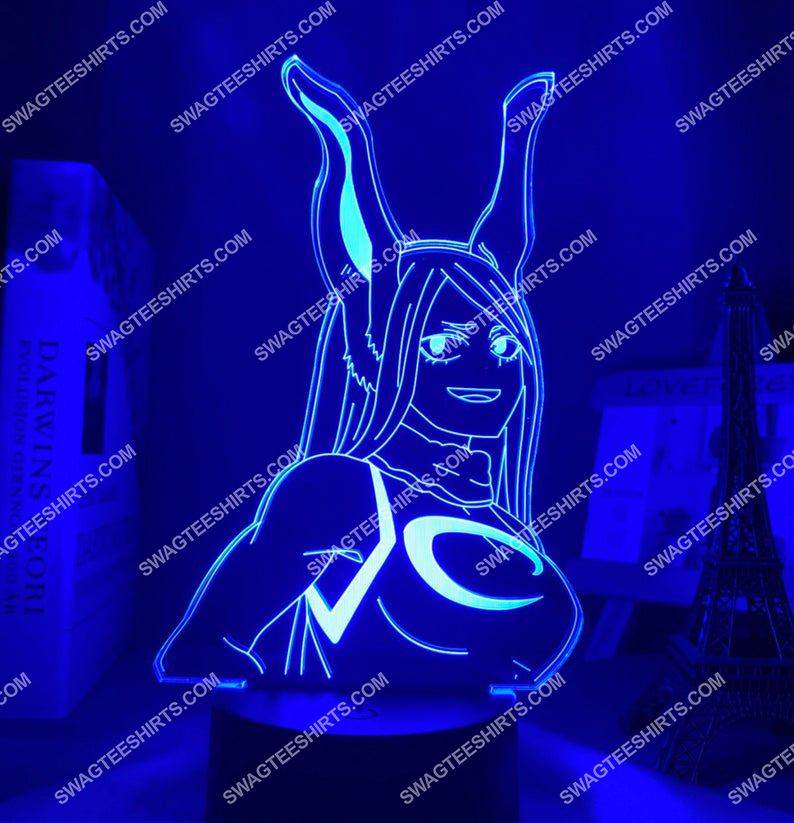 Rumi usagiyama my hero academia anime 3d night light led 5(1)